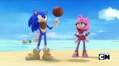 Sonic and Amy - Sonic Boom by Sonamy115.deviantart.com on @DeviantArt #BOOMTIME