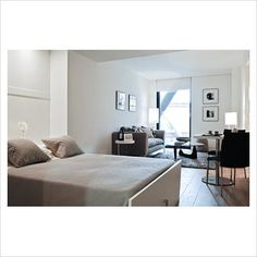 GAP Interiors - Contemporary studio apartment - Picture library specialising in Interiors, Lifestyle & Homes