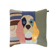 Discover the Carola van Dyke Duchess the Spaniel Cushion at Amara