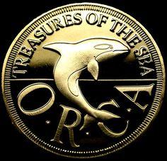 1994 PRINCIPALITY OF SEALAND Half Dollar ORCA Proof GEM SCARCE MICRONATION Coin!