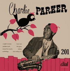 The great Charlie 'bird' Parker. Vintage Vanguard ジャズレコード館