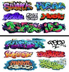 Graffiti Writing, Graffiti Lettering, Lettering Design, Typography, Graffiti Art Drawings, Graffiti Cartoons, Graffiti Styles, Train Ho, Model Train Layouts