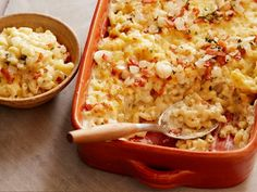 Mac 'n' Cheese with Bacon and Cheese from CookingChannelTV.com