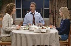 "SNL's Will Ferrell and Ana Gasteyer w/ Sarah Michelle Gellar - ""Dysfunctional Family Dinner"" Will Farell, Snl Cast Members, Snl Skits, Very Demotivational, Dodge Stratus, American Psycho, Dysfunctional Family"