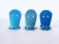 DIY Octopus Shell Game