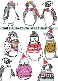 There are some fab designs from card publisher Stop the Clock this Christmas. Divided into two main collections their 2015 design ranges . Christmas Mood, Christmas Crafts, Christmas Wishes, Christmas Card Designs, Xmas Cards, Holiday Cards, Xmas 2015, Christmas Characters, Christmas Drawing