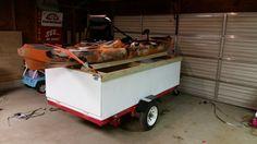 Kayak utility trailer