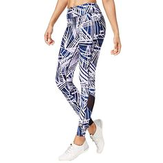 2949262a300 Calvin Klein Performance Radiant Printed High-Waist Leggings Multi Small at Amazon  Women s Clothing store
