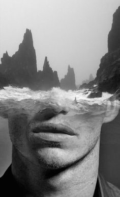 Les portraits en double exposition d'Antonio Mora Portraits En Double Exposition, Exposition Multiple, Photography Projects, Art Photography, Double Exposure Photography, Kunst Online, Multiple Exposure, Photocollage, Spanish Artists