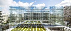 Immeuble de bureaux avenue Leclerc, par AZC ATELIER ZÜNDEL CRISTEA