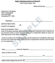 Free Blank Affidavit Form  Affidavit Form Printable Affidavit