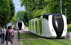 Alstom: Concept for new tram in Barcelona