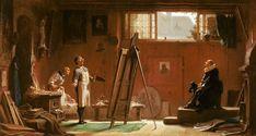 Carl Spitzweg - Carl Spitzweg  / The Portrait Painter