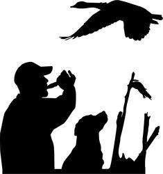 Check out our hunting dog sticker selection for the very best in unique or custom, handmade pieces from our laptop shops. Silhouette Images, Dog Silhouette, Silhouette Design, Duck Hunting Tattoos, Hunting Painting, Hunting Decal, Wood Burning Patterns, Window Decals, Wall Decals