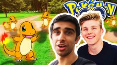 nice CHARMANDER NEST!? - Pokemon GO With Lachlan