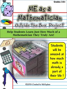 You have just discovered a hands-on project that is meant to allow students the chance to get to see just how much math they already know and how much math is ingrained into their day! ($)