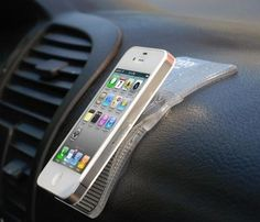 dashboard grippy pad for your iphone