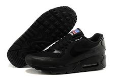 release date: aa14b d53c5 Air Max 90 Hyperfuse Prm Qs Mens Shoes All Black Factory Outlet · Air Max  90 HyperfuseShoes OutletAll BlackNike ...