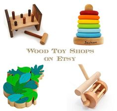 10 Great Etsy Shops for Wood Kids Toys