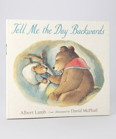 Take a look at this Tell Me the Day Backwards Hardcover by World Publications on #zulily today!