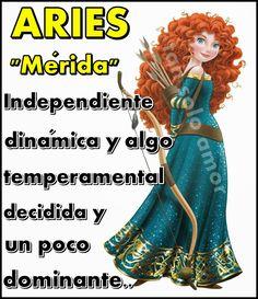 tan solo amor: ARIES ¡ Eres Mérida !