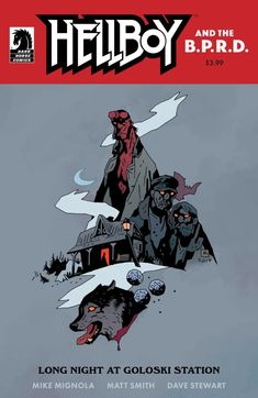 A quiet night at a rundown Russian train station turns into an all-out demon battle for Hellboy when three sinister interlopers pass through.(W) Mike Mignola (A) Matt Smith (CA) Mike MignolaExpected Release Date: Comic Book Publishers, Comic Books, Victorian Literature, Gaming, Mike Mignola, Matt Smith, Dark Horse, Comic Covers, Marvel Comics