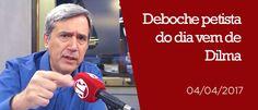 RS Notícias: Deboche petista do dia vem de Dilma Rousseff