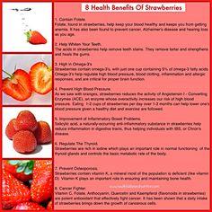 8 Health Benefits Of Strawberries