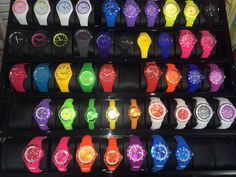 Watches Galore, our ICE Watches are hard to miss down in More Than Sport, Liberty Wharf. Why not try one for size? Tick Tockkkk :)