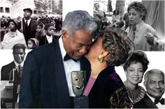 OSSIE DAVIS & RUBY DEE SOUNDSTAGE | King as ''close personal friends,'' Ossie Davis and Ruby Dee ...