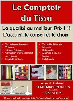 Le Comptoir Du Tissu Dutissu Sur Pinterest