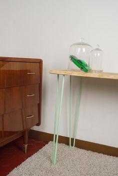 Hairpin legs 71cm - Pied en épingle - Piétement de table - Fabrication artisanale   D E S C R I P T I O N  Nous fabriquons dans notre atelier des pieds