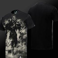 Ink Print LOL Zed T-shirt League of Legend Master of Shadows Hero Tee Shirt