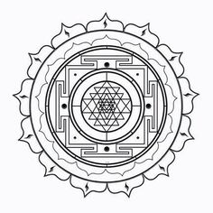 Sri Yantra (Geometría Sagrada) with a picture of my garden to the store. Sacred Geometry Symbols, Sacred Geometry Tattoo, Geometry Art, Mandala Tattoo, Mandala Art, Geometric Mandala, Geometric Flower, Geometric Tattoo Elbow, Tatuagem Yantra