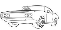 How to Draw The Fast and Furious, 1970 Dodge Charger, Step by Step, Cars, Draw Cars Online, Transportation, FREE Online Drawing Tutorial, Added by Dawn, April 8, 2015, 4:29:21 am