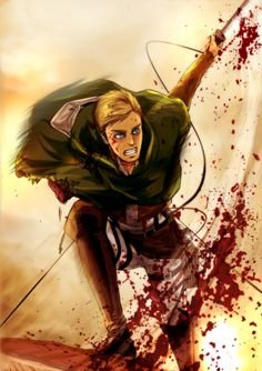 Commander Erwin smith ( by http://www.pixiv.net/member_illust.php?id=508252 )