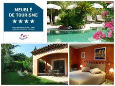 location de vacances classée meublé de tourisme 4 étoiles, selectionnée pour apparaitre dans nos coup de coeur. Le domaine de Respelido, Côte d'Azur, alpes maritimes, carros