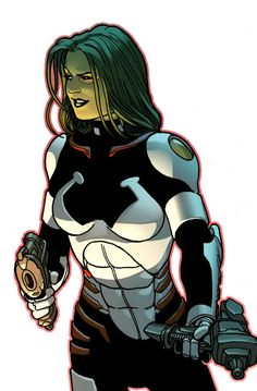 Gamora by Kevin Maguire | HW