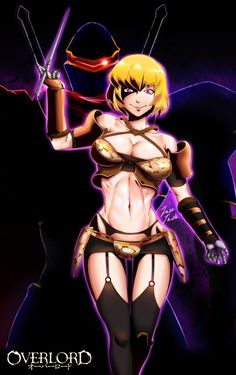 Clementine (Overlord),Overlord (Anime),Anime,аниме,няша в броне,Anime Няши,ainz ooal gown