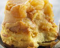 Fondant sablé aux pommes caramélisées