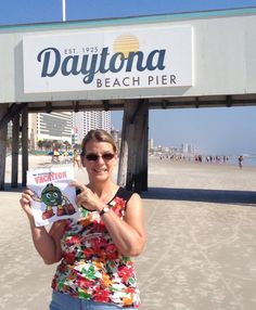Hanging out at the Dayton Beach Pier!