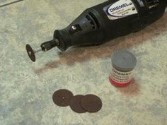 Using a Dremel Tool : About the Dremel Cutting Tool - YouTube