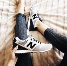 New Balance 996 grises et noires #balance #grises #noires