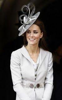 Duchess of Cambridge in a Rachel Trevor-Morgan hat