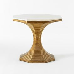Hourglass Table (Gold) - Bunny Williams