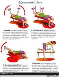Ćwiczenia na górną część ciała