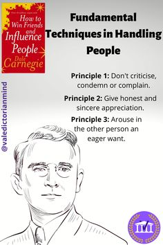 Open up opportunities in life by learning Dale Carnegie's Fundamental Techniques in Handling People