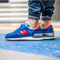 Oh! So clean! NB990 by @pops75 - tag #sneakersmag for shoutouts! #womft #sadp #madebynb #newbalance #kotd #dailykicks #sneaker
