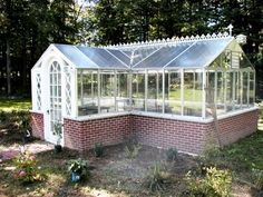 My husband promised me a greenhouse when we move, not sure he knows what he's in for!
