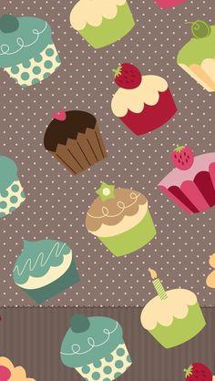 Cupcakes home screen